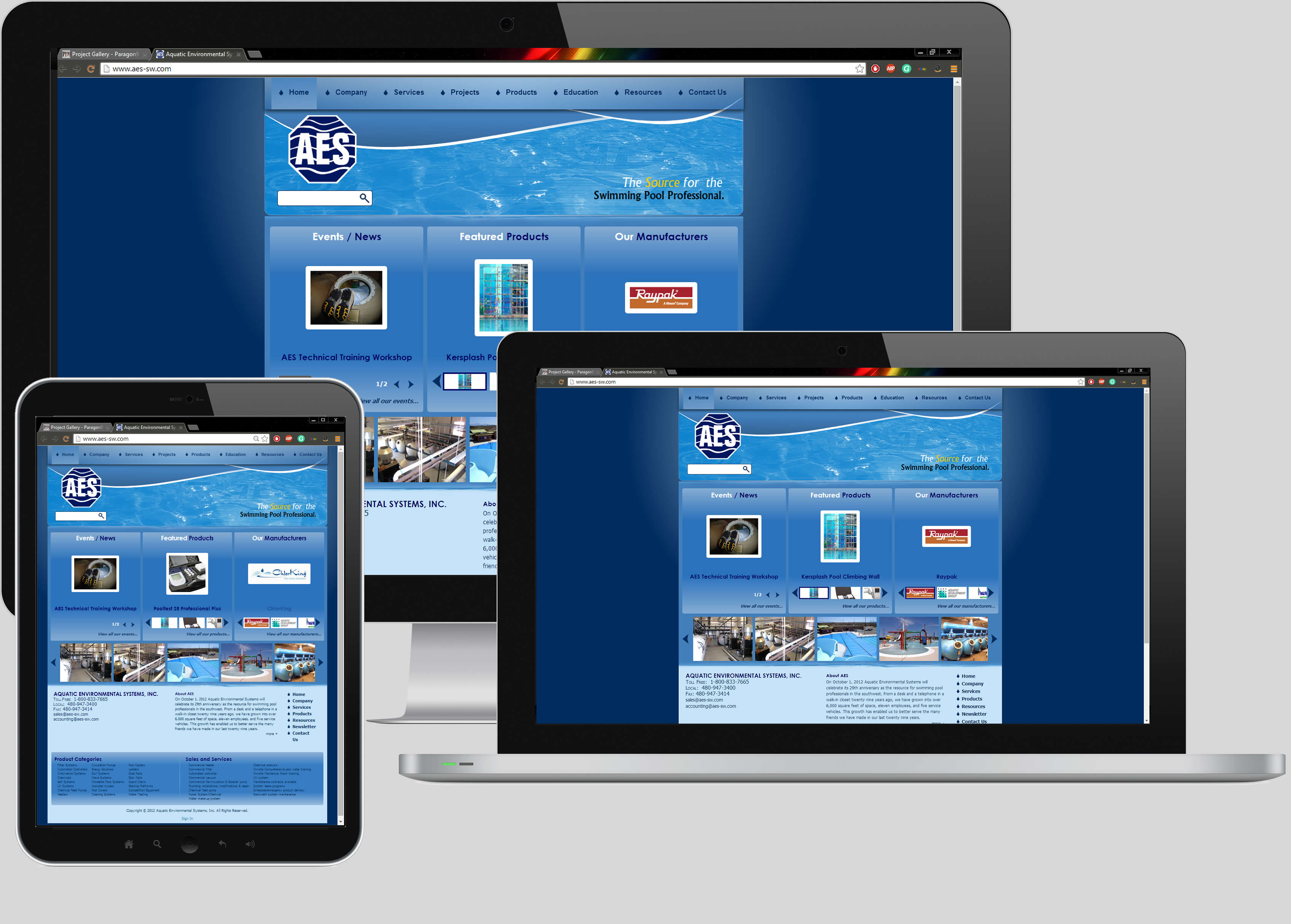 Aquatic Environmental Systems Website